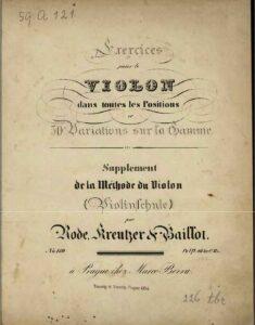 Rode P. - Violin Exercises