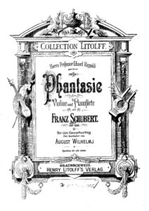 Schubert F. - Fantaisie Op.159 for Violin and Piano V.2