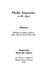 Simpson D.L. - Concerto B-Dur for Violin and Orchestra Score