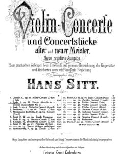 Spohr L. - Concertante №2 h-moll for Two Violins and Orchestra Op.88