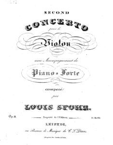 Spohr L. - Concerto №2 d-moll Op.2 for Violin with Orchestra V.2