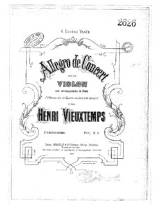 Vieuxtemps H. - Concerto №8 Op.59 for Violin and Orchestra