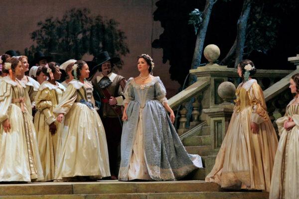 25 января. Премьера оперы Винченцо Беллини «Пуритане».