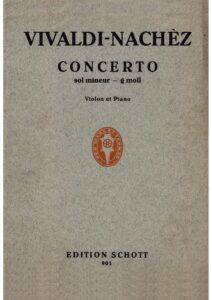 Vivaldi A. - Concerto g-moll RV 334 for Violin RV 317