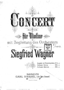 Wagner S. - Concerto for Violin and Orchestra