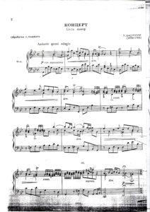 Castrucci P. - Concerto g-moll for Violin and Orchestra