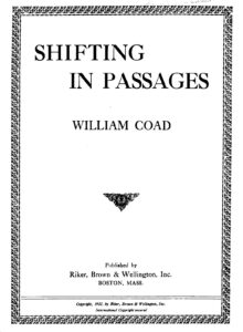 Coad W. - Shifting in Passages for Violin