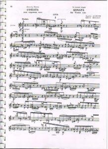 Denisov E. - Sonata for Violin Solo