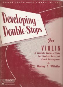 Developing Double-Stops in the First Position for Violin