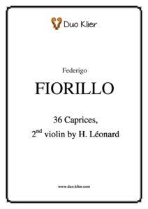 Fiorillo F. - 36 Caprices for Two Violins (Leonard H. Second Violin)