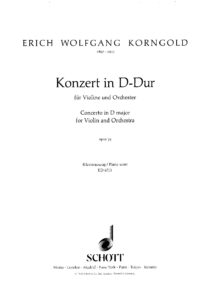 Korngold E.W. - Concerto D-Dur Op.35 for Violin and Orchestra