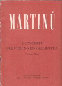 Martinu B. - Concerto №2 for Violin and Orchestra