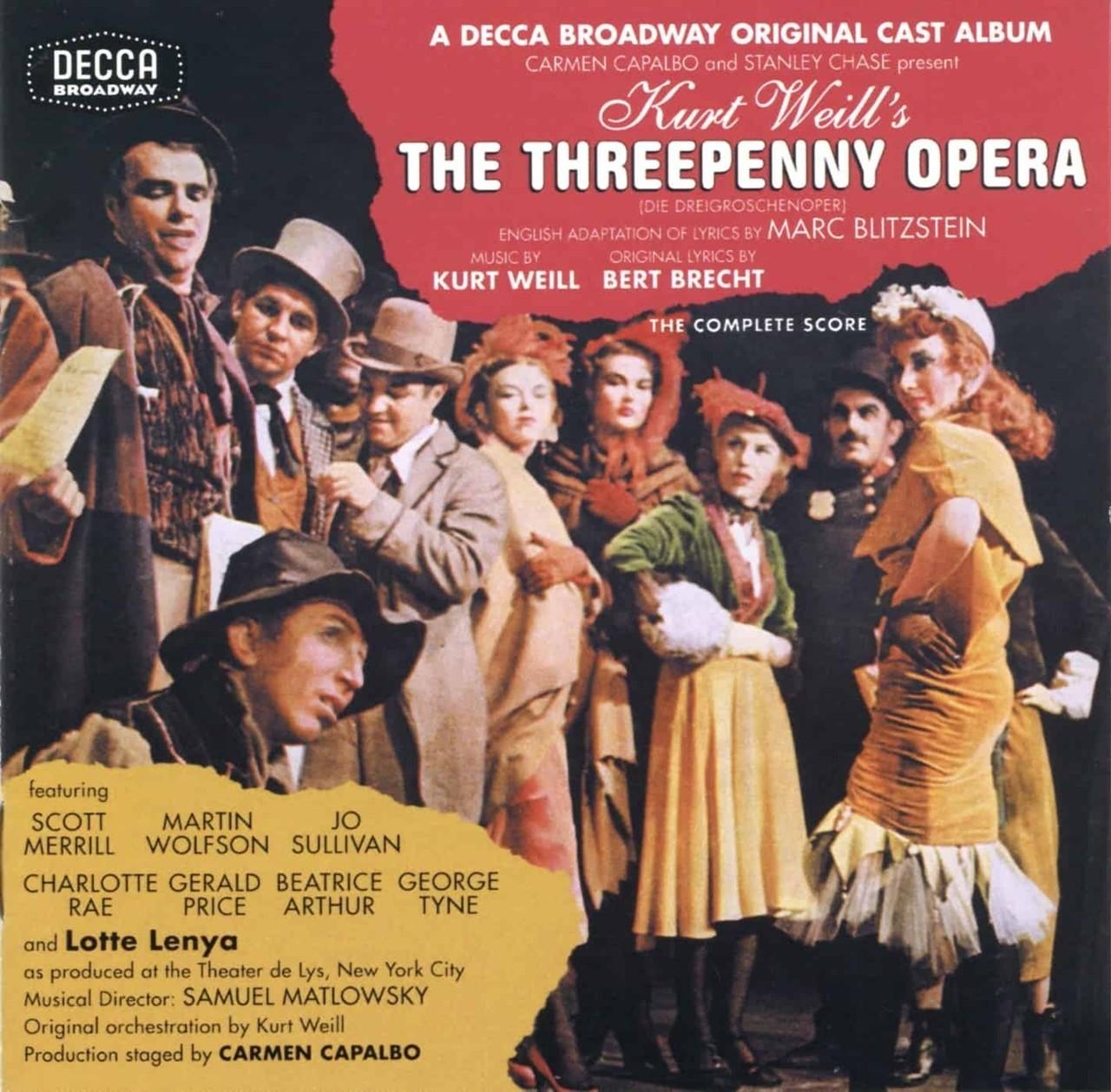 10 марта. Мюзикл The Threepenny Opera.